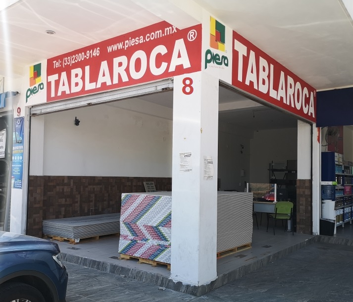 Tablaroca Guadalajara PIESA Sucursal Tabachines