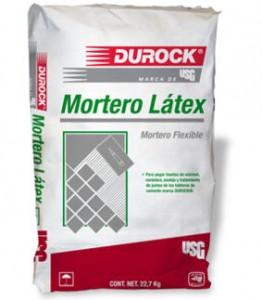 MORTERO LATEX para DUROCK
